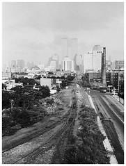 New York Skyline 1998 (bo foto) Tags: world new york black tower skyline 50mm nikon manhattan twin center wtc analogue trade boudewijn nikonfm whitebw olthof dimagescanelite5400