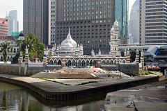 MYS079 Jamek Mosque - Kuala Lumpur 25 - Malaysia (VesperTokyo) Tags: asia mosque malaysia kualalumpur