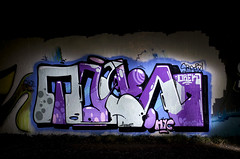 »Toakie« – NightVisions - 0496 (Jupiter-JPTR) Tags: sf germany graffiti spider cologne colonia nightshots halloffame ccaa hyc nightvisions jptr orek toak hallb hallworks nightpieces toakie museoimaginario