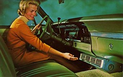Frigiking auto air conditioning, (1950sUnlimited) Tags: classic cars advertising postcards advertisements midcentury
