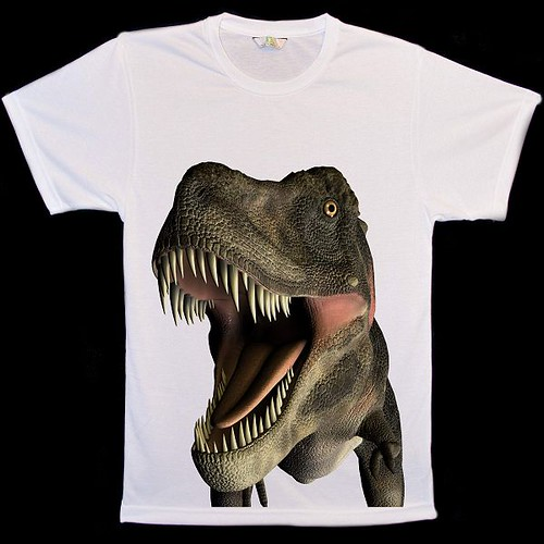 Animal Face Dinosaur T-Shirts