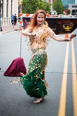 Paula I (Brian Leon of Ottawa) Tags: dance bellydancer redhead bellydancing firstfriday galleryhop tradestreet paulastump