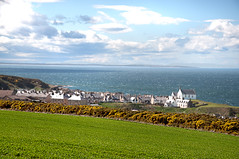 Findochty and the Moray Firth (RiserDog) Tags: coast findochty banffshiremoray firthmoray