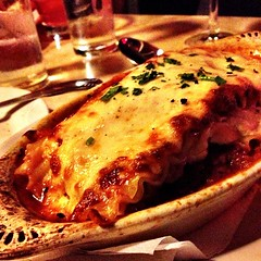 Ground Veal Lasagna nom! (plaintruthiness) Tags: nyc food square yummy italian yum pasta foodporn squareformat italianfood lasagne lasagna foodie veal nom nomnomnom groundveal newyorkcit iphoneography instagramapp uploaded:by=instagram foursquare:venue=4bdcafb8ccf52d7feee2786d foodstagram