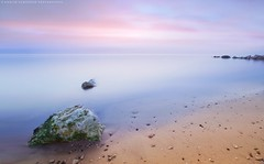 Quiet Morning (khalid almasoud) Tags: morning light colors movement sand rocks waves all quiet photographer pentax  sigma beam rights edge absolutely khalid reserved calmness icapture     2013  photographyrocks k01 10mm20mm almasoud  thebestofday gnneniyisi perrrfect