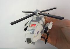 "U.C.H.D ""翠鳥"" Helidrone 3 (Empty Sandbox) Tags: jack lego purge panasian brickarms thepurge helicopterdrone uchd helidrone"