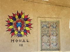Taus in the desert (Mohak [art]) Tags: streetart colors neon urbanart morocco spraypaint marruecos markers mohak eyemovement heartseries mohakart
