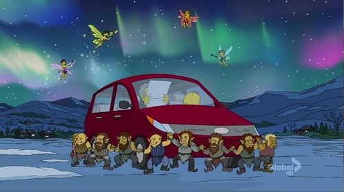 The Simpsons Do Iceland