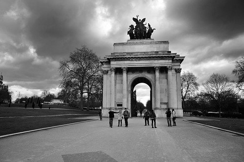 The Wellington Arch, Hyde Park Corner, London 12/03/2013