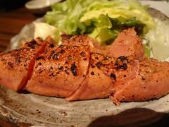 Hot & Spicy Cod Roe @Tometeba, Kanda, Tokyo (Phreddie) Tags: food japan dinner happy cuisine japanese restaurant tokyo yum delicious eat kanda izakaya kyushu 130515