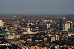 Central London aerial view from The City (JB Raw Images) Tags: city uk morning light england urban london beautiful westminster point dawn europe view centre capital bttower centrallondon jbraw