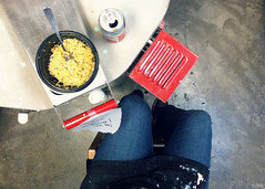 095 April 05, 2013 (mrbosslady) Tags: food feet floor jeans soda kiln whereistand