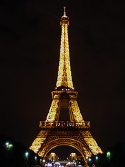 When I Remember Paris  2 (waitingfortrain) Tags: paris france eiffeltower parisatnight cityoflight