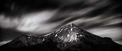 Mt Taranaki (BRIAN WOOD IMAGES) Tags: sky nature clouds landscapes sydney australia places nsw photomerge garie panoramics cirrius