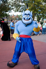 IMG_5537 (onnawufei) Tags: parade disneyworld wdw aladdin waltdisneyworld magickingdom genie thegenie