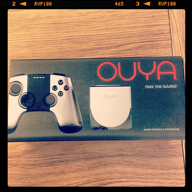 Just picked up my OUYA, I be doing a unboxing video later today.
