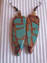 kiowa earrings (flo'touch) Tags: earrings