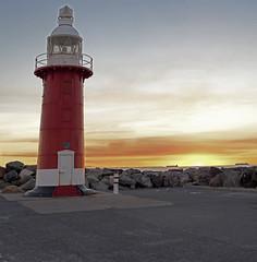 North Mole Lighthouse PS