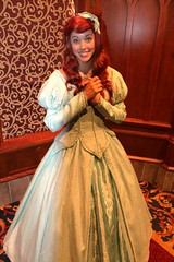 Ariel (dmorg888) Tags: ariel disneyland disney thelittlemermaid royalhall facecharacter fantasyfaire