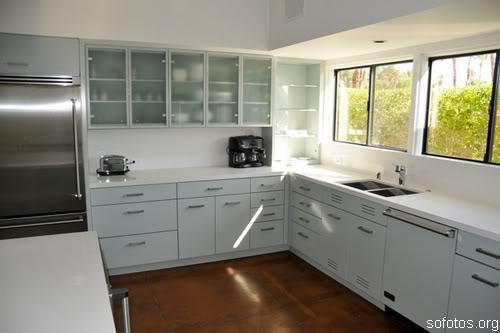 Cozinhas planejadas de aço