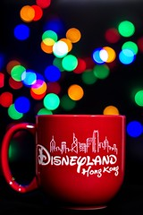 Disneyland Mug Bokeh (Photos By Dlee) Tags: red canon hongkong photo colours bokeh disneyland mug fairylights stofen 550d strobist bokehlicious t2i sigma50mm14 yongnuo canon430exii kissx4 lightroom4 yongnuo560ii yongnuorf603 photosbydlee photosbydlee13