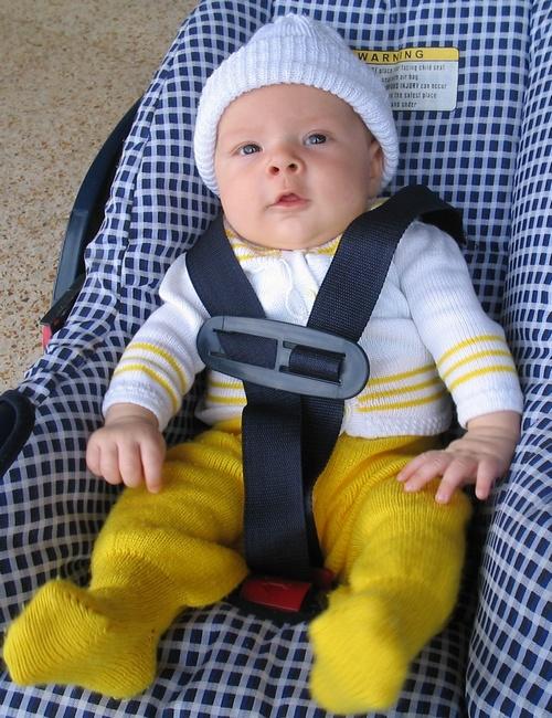 Bebe na cadeirinha