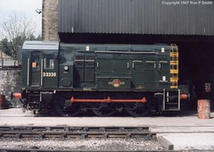 132_07 (liverpolitan.) Tags: br diesel yorkshire loco class british locomotive railways 08 haworth shunter d3336