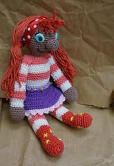 Sassa4 (Marachtig) Tags: dolls crochet pop haken poppetje etui glassesholder haakwerk briletui crochetdolls