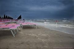 Bellaria after thunderstorm (Fotopedale) Tags: mare thunderstorm spiaggia temporale bellaria nikkor2485 lightroom4