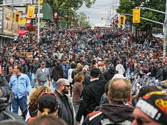 Port Dover Ontario, Friday 13th, 50 thousand + (cdn.slacker) Tags: people ontario flood nation talk off dirty destination biker overwhelming shitload enthuisiasts