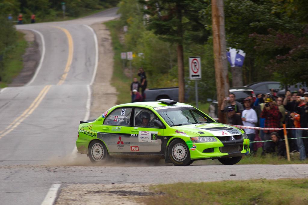 Simon Losier & Brian Maxwell - Rallye Défi 2013