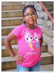 Bella - Strike a Pose (jfinite) Tags: family summer love girl fun play daughter
