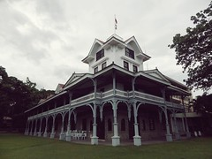Silliman Hall (A Young Man and his Camera) Tags: architecture pentax philippines dumaguete pilipinas dumaguetecity sillimanuniversity photoscape sillimanhall editedwithphotoscape pentaxx5