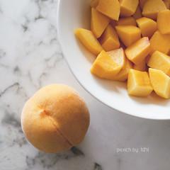 peach (idni . idniama) Tags: food fruit postre dessert 50mm nikon peach fruta alimento textures marble plato texturas dulce gettyimages mármol 2013 peachskin idni gettyimagesiberiaq3 piezadefruta