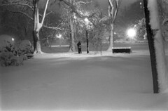 022269 28 (ndpa / s. lundeen, archivist) Tags: park trees winter people blackandwhite bw snow storm 1969 film monochrome boston night 35mm bench ma lights blackwhite hugging couple massachusetts nick snowstorm lagoon nighttime 1960s february parkbench snowfall blizzard beaconhill publicgarden winterstorm dewolf heavysnow bostonpublicgarden bigsnow coveredinsnow recordsnowfall recordsnow nickdewolf photographbynickdewolf