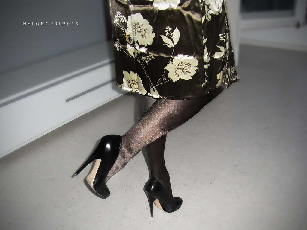 brunette silk escort