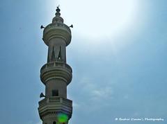 PEOPLE & PLACES (Bashir Osman) Tags: pakistan minaret mosque karachi sindh paquisto  bashir   travelpakistan  pakistn  indusvalleycivilization  ibadat   bashirosman gettyimagesmiddleeast     aboutpakistan aboutkarachi travelkarachi   pakistna pakistanas bashirusman sunandminaret