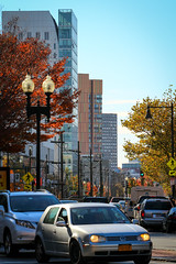 IMG_4851 (kz1000ps) Tags: trees color tower art fall college leaves boston architecture pumpkin design construction university realestate massachusetts dorm huntington newengland foliage massart fenway avenue development northeastern