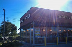 Hey, I like glare hpotos! (l_dawg2000) Tags: new retail restaurant wafflehouse covered ms waffles scattered southaven smothered 2013 snowdengrove