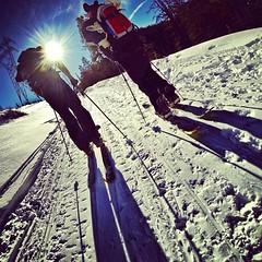 Wow it was great to get out and tour with Tele Tom, it's been too long!  One of the amazing guys who introduced me to backcountry snowboarding 8 seasons ago! #splitboarding #snowboarding #tetons #jacksonhole #day18 #wearesplitboarding #karakorambindings # (Jeff Bernhard) Tags: tom square snowboarding jackson squareformat wyoming teton grandteton jacksonhole grandtetonnationalpark amaro tetonpass gtnp splitboarding iphoneography instagramapp uploaded:by=instagram wearesplitboarding tetonpasswyoming