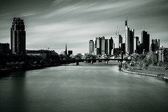 The Empire - The Dark side of the Force... (_flowtation) Tags: longexposure sky blackandwhite monochrome skyline clouds river high nikon key day cityscape frankfurt main bach filter highkey florian fluss banks frankfurtammain frankfurtmain mainriver wolkenkratzer ffm langzeitbelichtung banken ezb d4 colloseo bankcity europeancentralbank europischezentralbank schwarzweis mainplaza nd8 deutschherrnbrcke leist nd3 flowtation nikond4 bigstopper deutschherrnviertel florianleist florianleistphotography florianleistfotografie flowtationde florianleistde