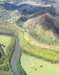 Wailua River (orping) Tags: river tour falls kauai wailua cessna airventures