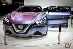 Nissan Friend-ME Concept door opened