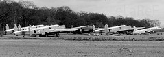 Kemble Dump (eLaReF) Tags: bw white black airplane dump aeroplane derelict kemble