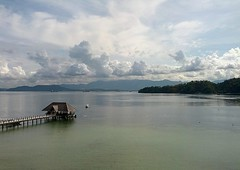 Gaya Island (yanizmerican) Tags: travel sea clouds malaysia kotakinabalu sabah cloudporn islandlife cloudcity gayaisland flickrandroidapp:filter=none