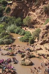 beneath Ouzoud waterfalls (Dorota Zapisek) Tags: waterfall morocco atlas ouzoud