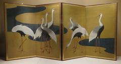 Cranes by Suzuki Kiitsu (Japanese, 17961858)2 (peterjr1961) Tags: nyc newyorkcity newyork japan japanese japaneseculture themet metropolitanmuseumofart infocus highquality