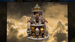 SKYHOLM- new video (Fianat) Tags: city sky fly video lego steam infinite steampunk moc bioshock fianat skyholm