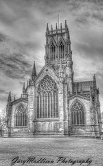 St Georges B&W HDR- (madktm) Tags: church st canon eos george high dynamic sigma filter lee 7d nd 1020mm grad range hdr doncaster tonemapped higfhdynamicrange