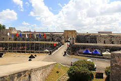 Fort of Saint Charles (La Cabaa) - Havana, Cuba (The Web Ninja) Tags: travel sky color castle history architecture clouds canon photography photo colorful fort havana cuba battle explore habana fortress miltary explored 60d